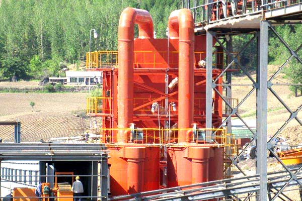 Waste Tyre & Plastic Pyrolysis Turnkey Project